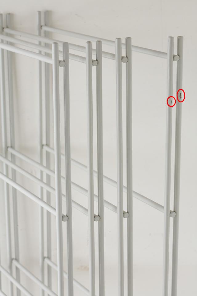 無印良品のスチールユニットシェルフ・グレー棚セット、W150.5×D41×H120cm-05