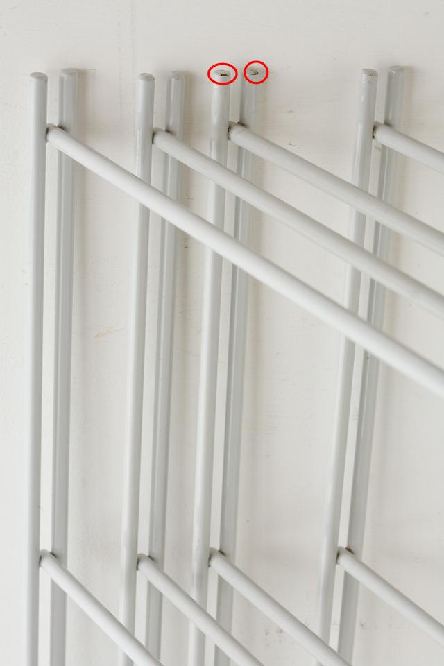 無印良品のスチールユニットシェルフ・グレー棚セット、W150.5×D41×H120cm-06