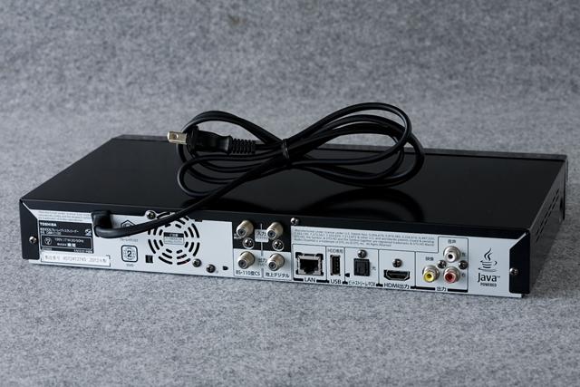 TOSHIBA:東芝のREGZA:レグザブルーレイレコーダー「DBR-C100」-04