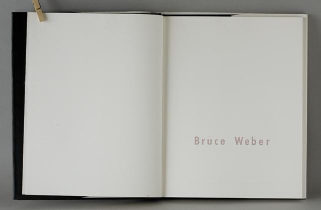 Bruce Weber:ブルース・ウェーバー写真集-04