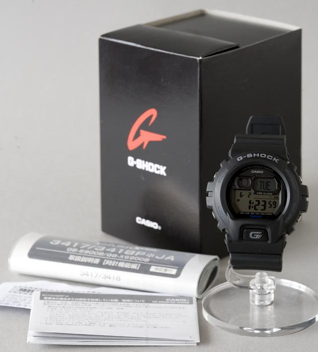 CASIO:カシオのG-SHOCK:ジーショック、Bluetooth:ブルートゥース対応「GB-6900B-1JF」-02