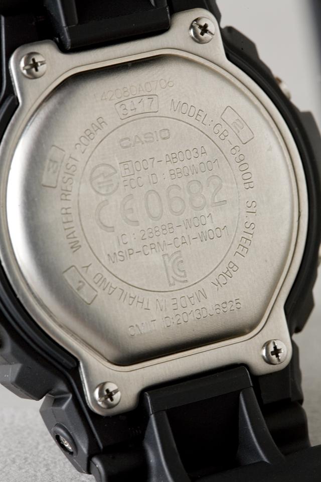 CASIO:カシオのG-SHOCK:ジーショック、Bluetooth:ブルートゥース対応「GB-6900B-1JF」-03