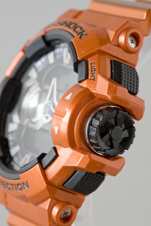 CASIO:カシオのG-SHOCK:ジーショックのBluetooth:ブルートゥース対応、G'MIX:ジーミックス「GBA-400-4BJF」-07