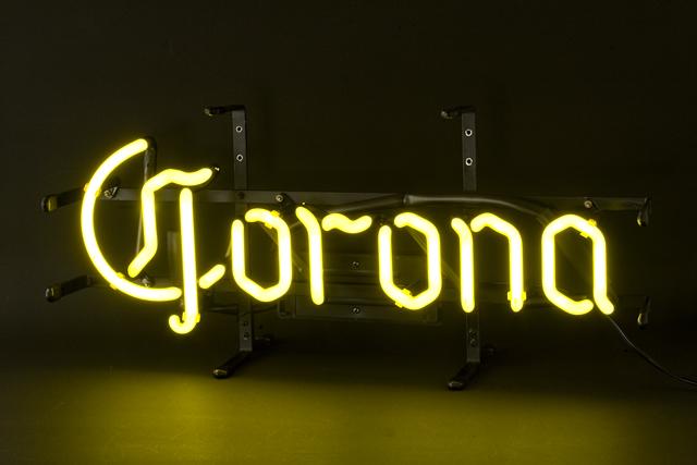 「Corona:コロナビール」のネオン管サイン看板-01