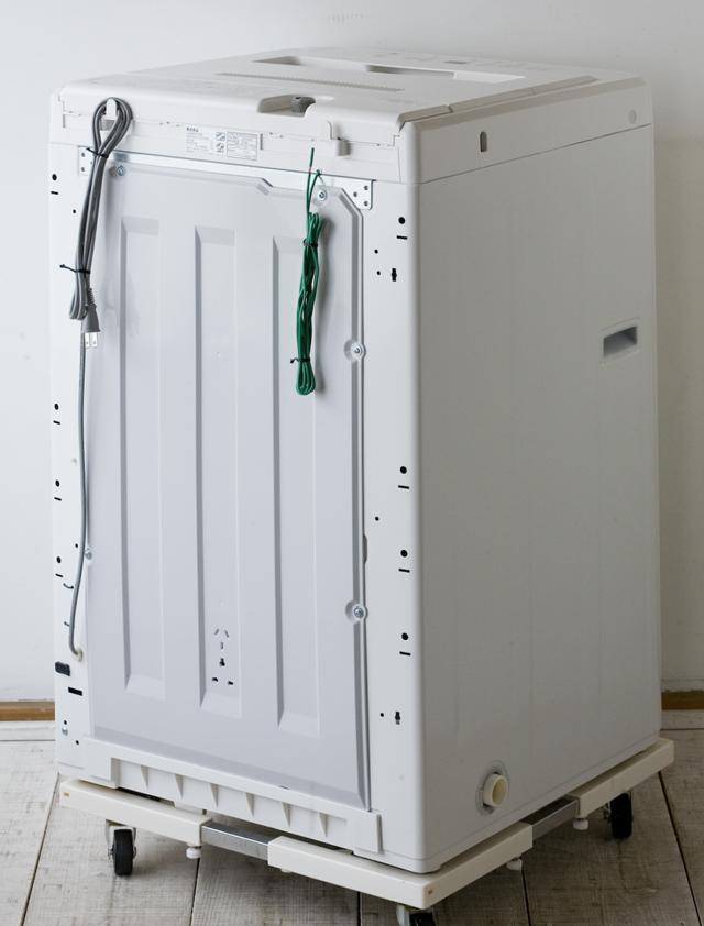 無印良品:MUJIの洗濯機「AQW-MJ45」-02