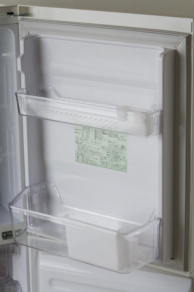 無印良品:MUJIの冷蔵庫「RMJ-11B」-06