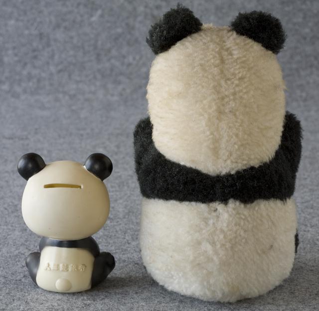 昭和レトロなパンダ5点セット-20