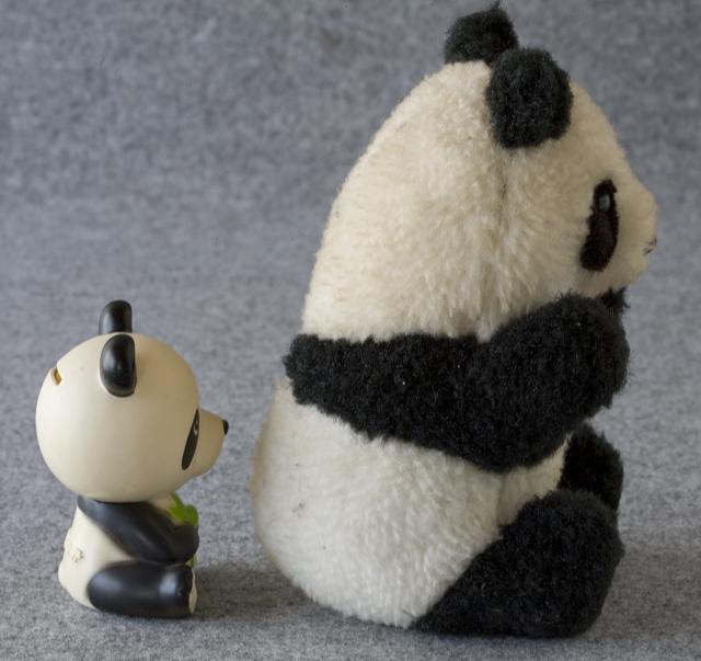 昭和レトロなパンダ5点セット-21