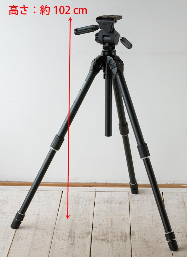 SLIK:スリックのプロ用大型三脚、「THE PROFESSIONAL SP」-03