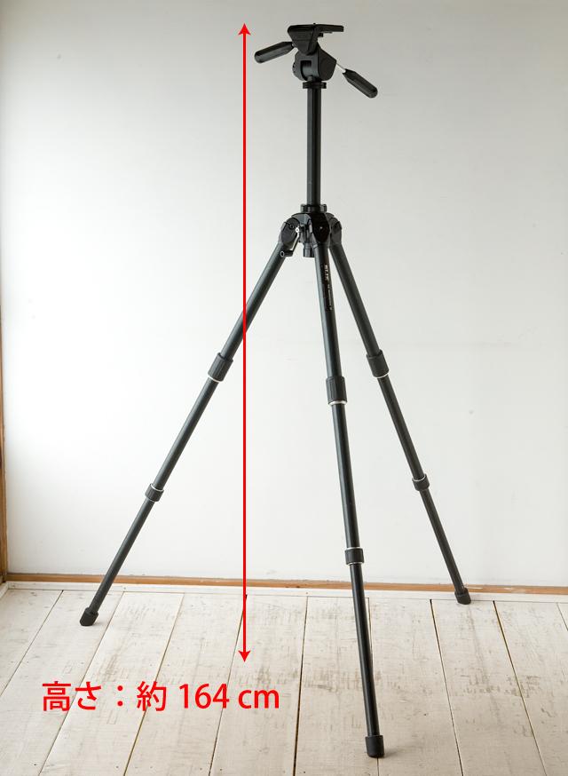 SLIK:スリックのプロ用大型三脚、「THE PROFESSIONAL SP」-04