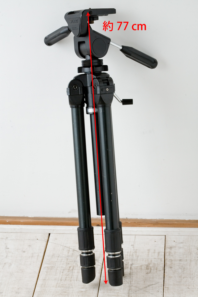 SLIK:スリックのプロ用大型三脚、「THE PROFESSIONAL SP」-18