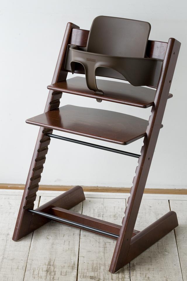 北欧デザインベビーチェア、STOKKE:ストッケの「TRIPP TRAPP:トリップトラップ」ベビーセット-01