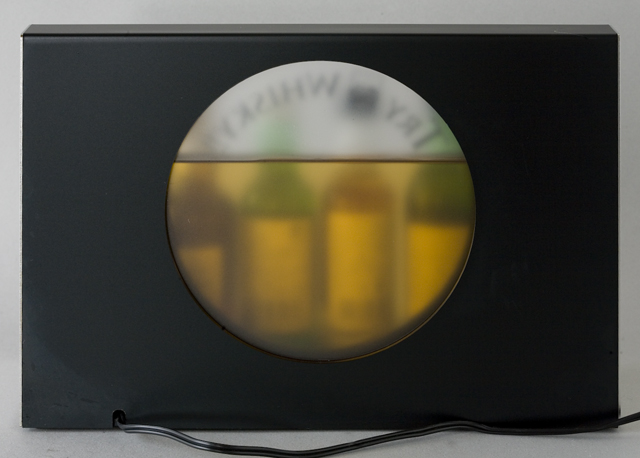 SUNTORY:サントリー「TRY WHISKY!!」販促ライトディスプレイ☆未開栓ミニチュアボトル6本セット-05