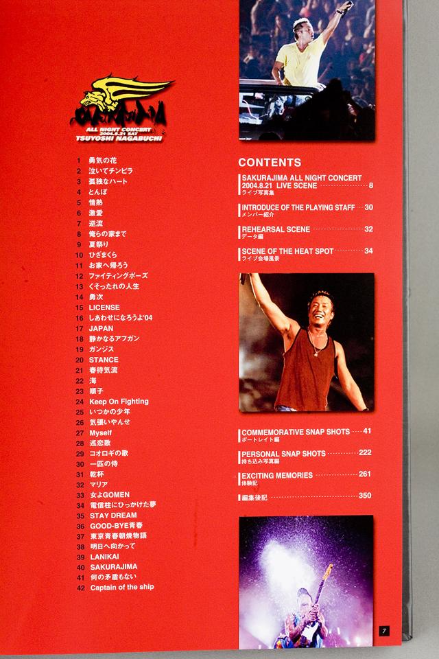 長渕剛のPremium Album:プレミアムアルバム「SAKURAJIMA:桜島」-06