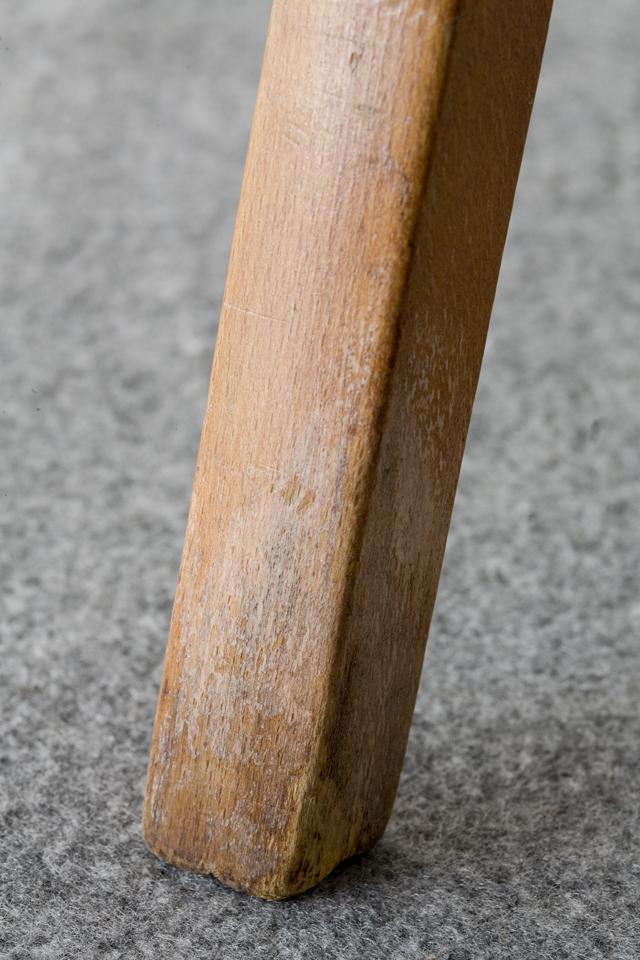 秋田木工の剣持勇デザインスタッキングスツール「No.202」うぐいす色2脚セット-15