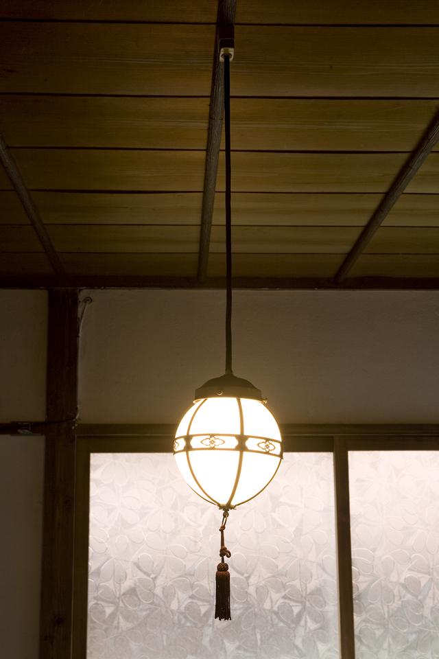 アンティーク、昭和レトロな和風照明-07