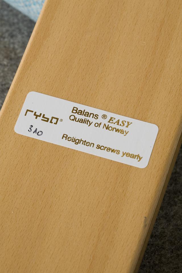 ノルウェー・Rybo:リボ社の「Balans EASY:バランスチェア・イージー」-06