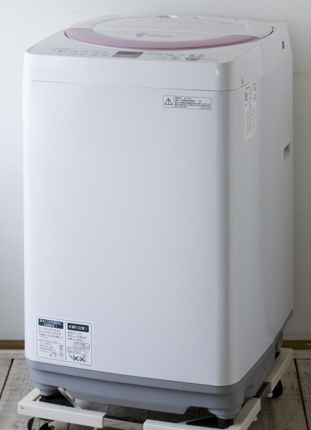 SHARP:シャープの全自動洗濯機「ES-GE60N」-01