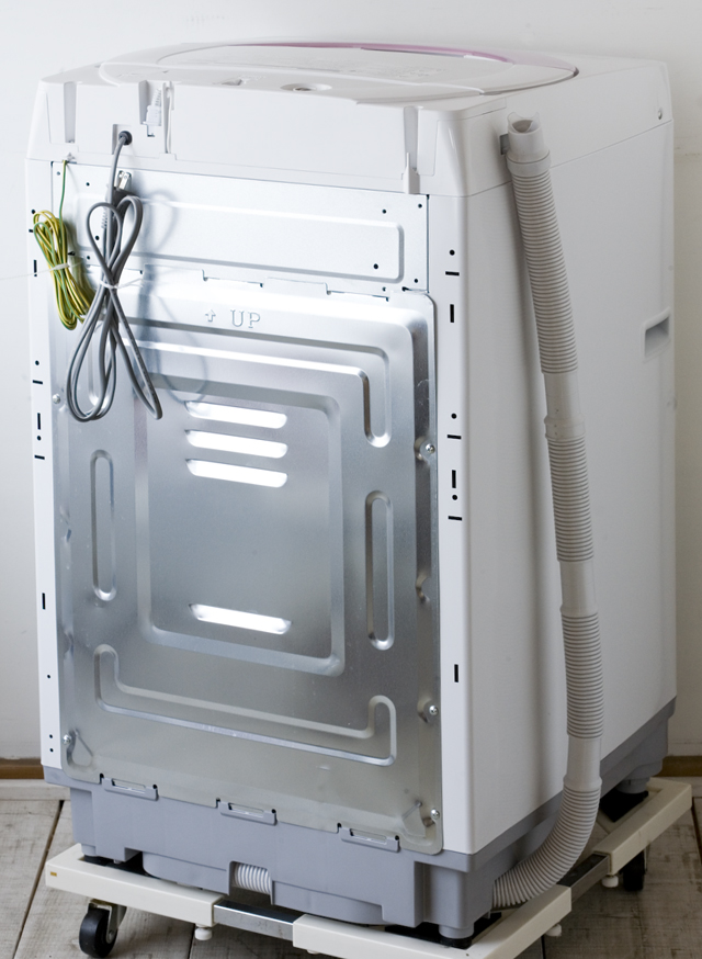SHARP:シャープの全自動洗濯機「ES-GE60N」-02