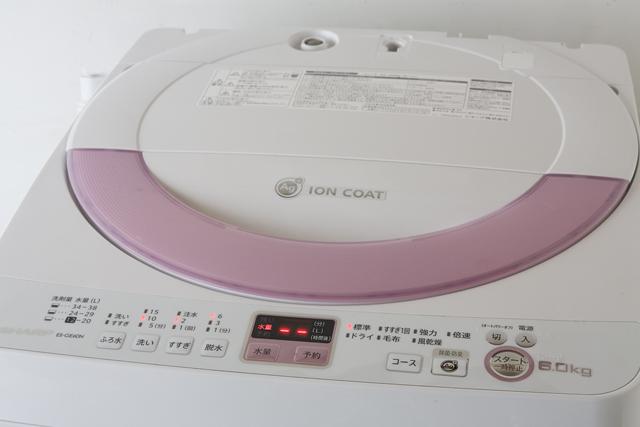 SHARP:シャープの全自動洗濯機「ES-GE60N」-04