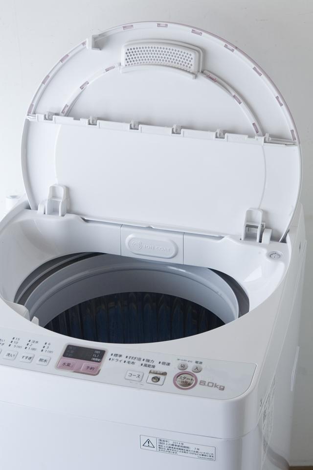 SHARP:シャープの全自動洗濯機「ES-GE60N」-10