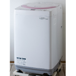 SHARP:シャープの全自動洗濯機「ES-GE60N」