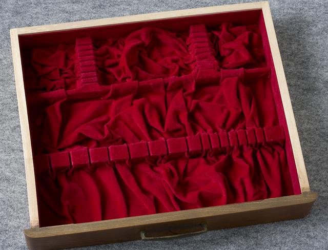 純銀:シルバーカトラリー木製収納ケース-12
