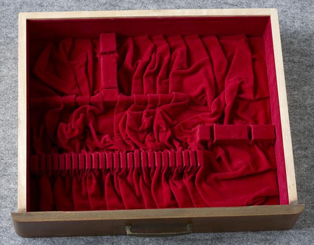 純銀:シルバーカトラリー木製収納ケース-16