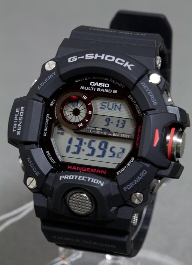 CASIO:カシオのG-SHOCK、RANGEMAN:レンジマン「GW-9400-1ER」-03
