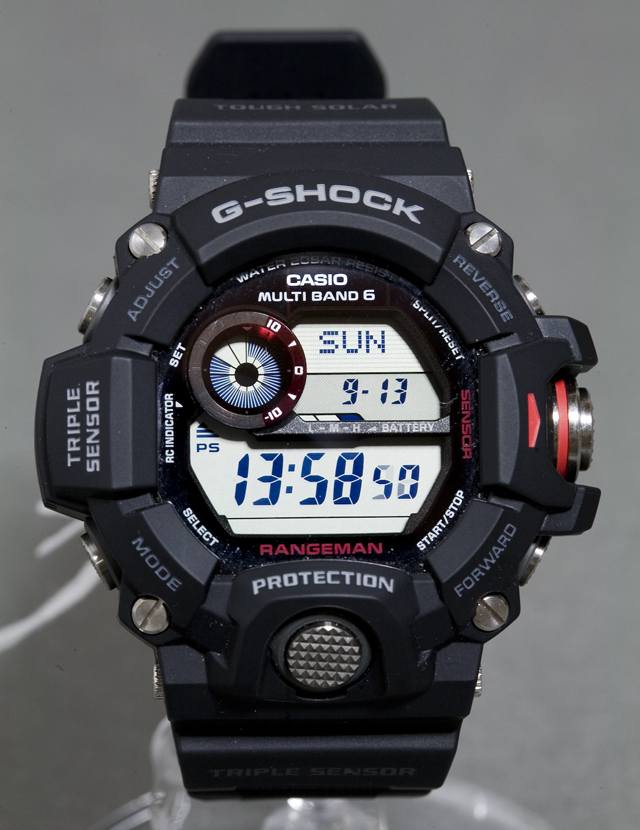 CASIO:カシオのG-SHOCK、RANGEMAN:レンジマン「GW-9400-1ER」-04