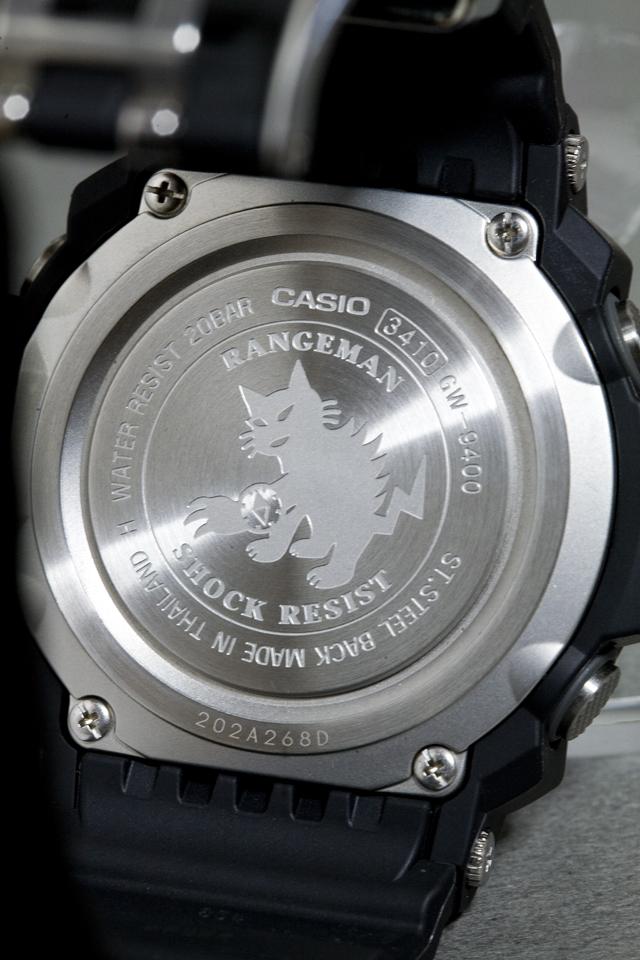 CASIO:カシオのG-SHOCK、RANGEMAN:レンジマン「GW-9400-1ER」-12