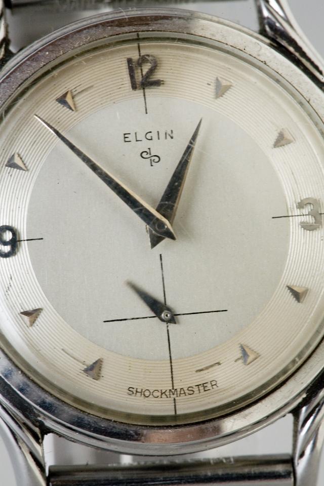 アンティークELGIN:エルジンの手巻き腕時計-03