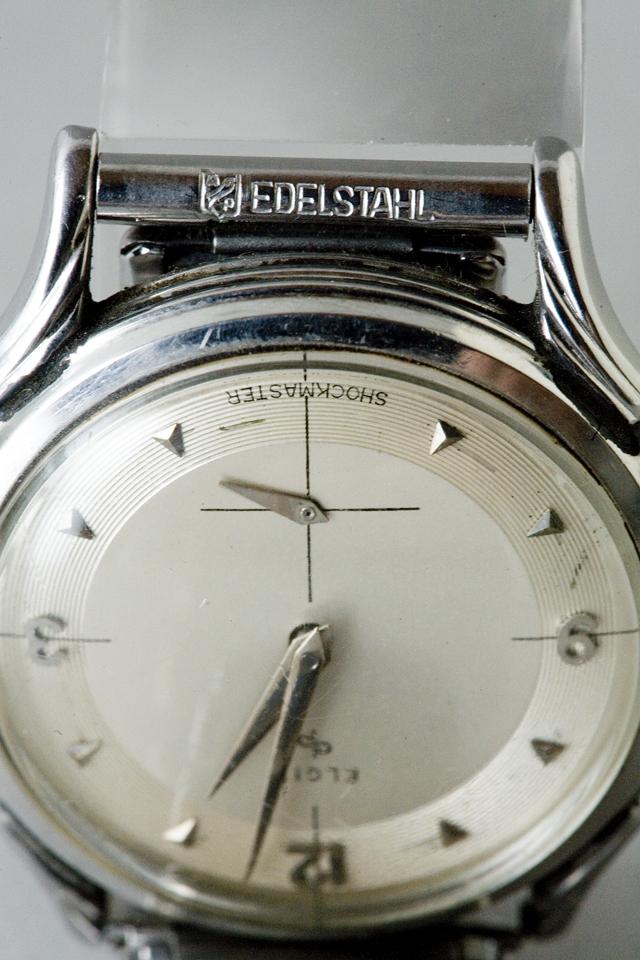 アンティークELGIN:エルジンの手巻き腕時計-07