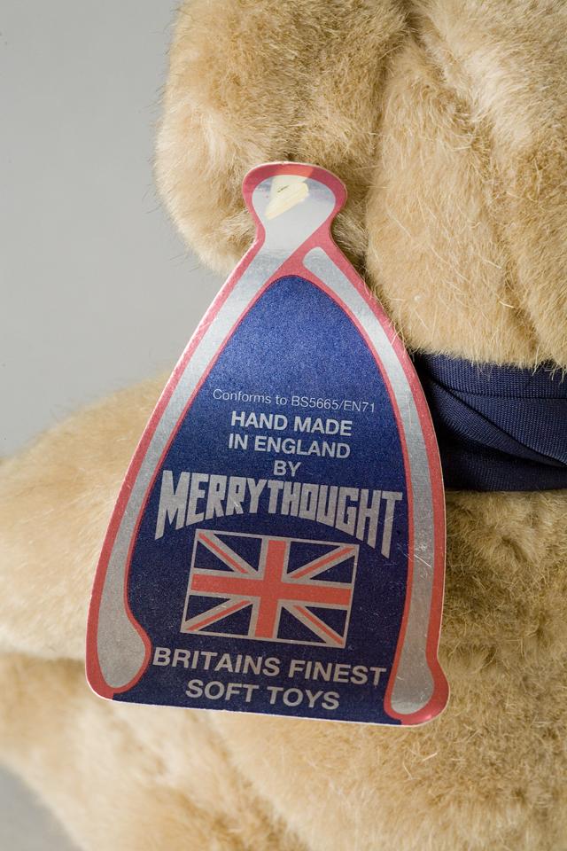 MERRY THOUGHT:メリーソートのイギリス製テディベア-06