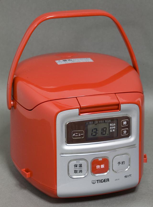 TIGER:タイガーのマイコン炊飯ジャー「JAI-H550」トマトレッド:RT-01
