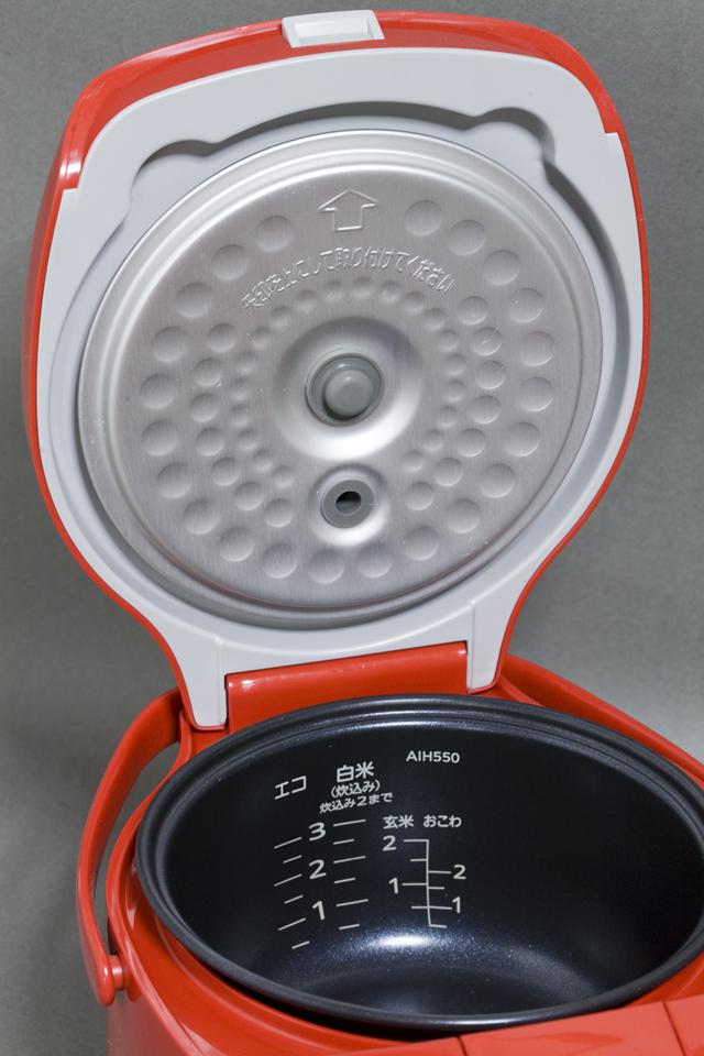 TIGER:タイガーのマイコン炊飯ジャー「JAI-H550」トマトレッド:RT-02