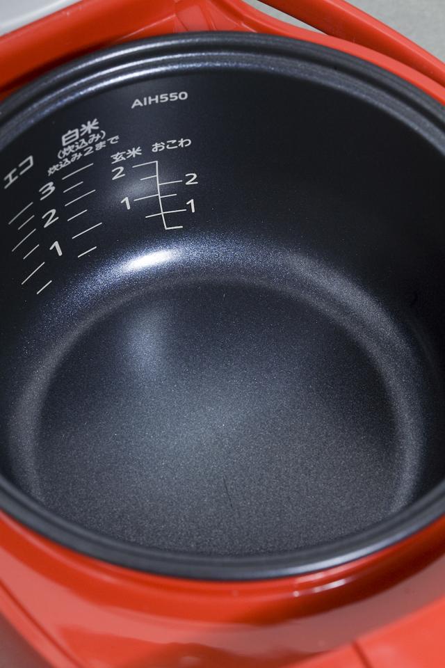 TIGER:タイガーのマイコン炊飯ジャー「JAI-H550」トマトレッド:RT-03