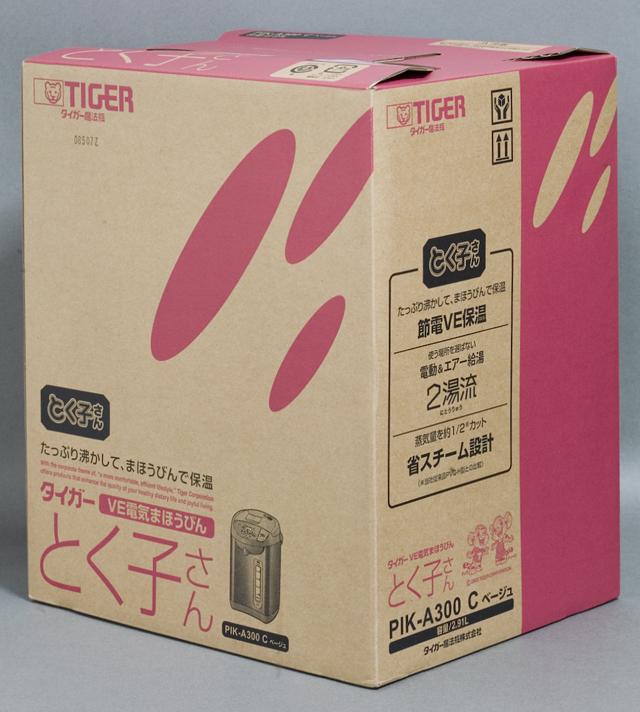 TIGER:タイガーVE電気まほうびん<とく子さん>「PIK-A300」-07