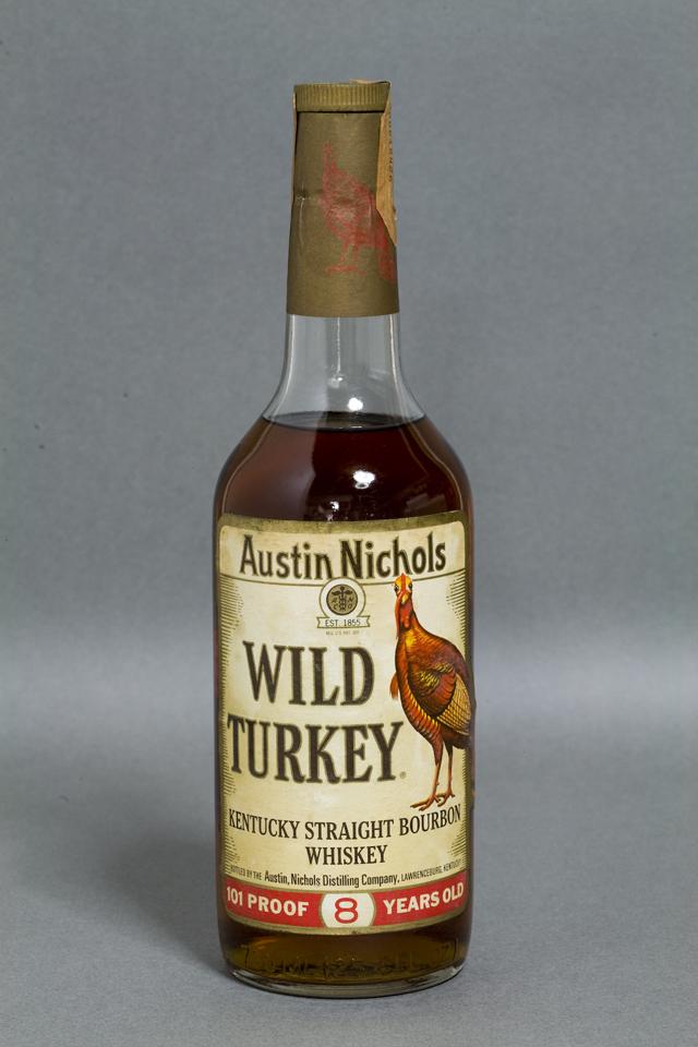 「WILD TURKEY:ワイルドターキー」8年-01
