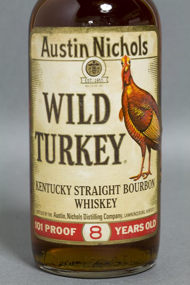 「WILD TURKEY:ワイルドターキー」8年-02
