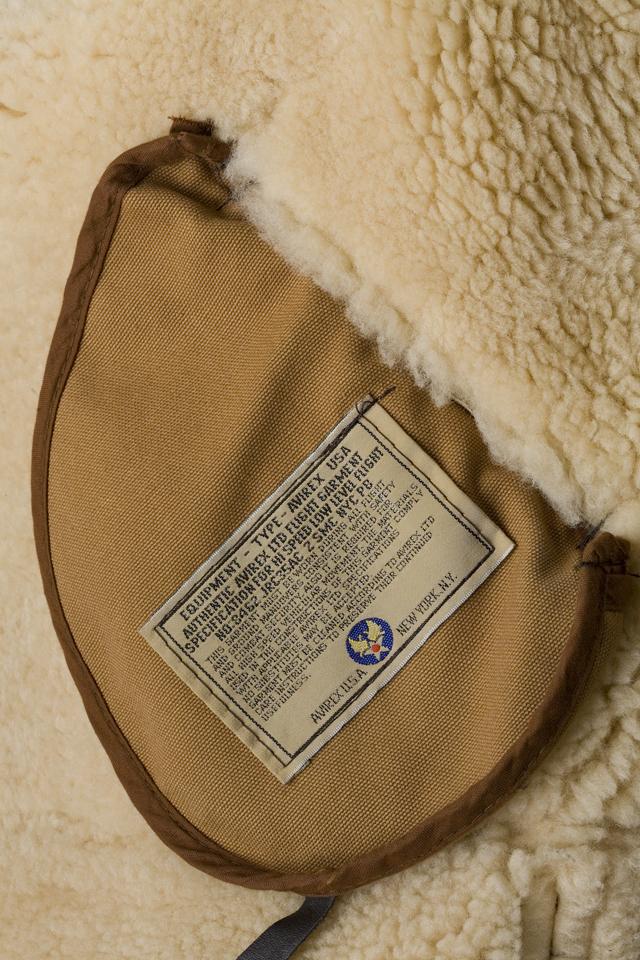 AVIREX:アヴィレックスのレザーフライトジャケット「B-3」-19
