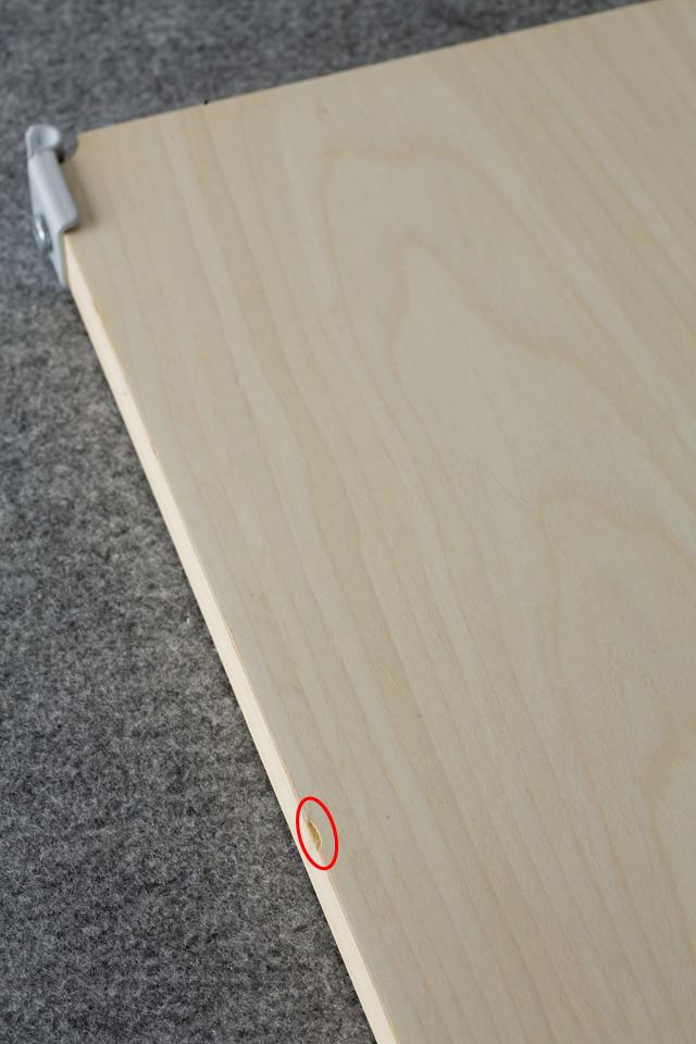 無印良品の「スチールユニットシェルフ・帆布バスケット・木製棚セット 幅56cmタイプ」-10a