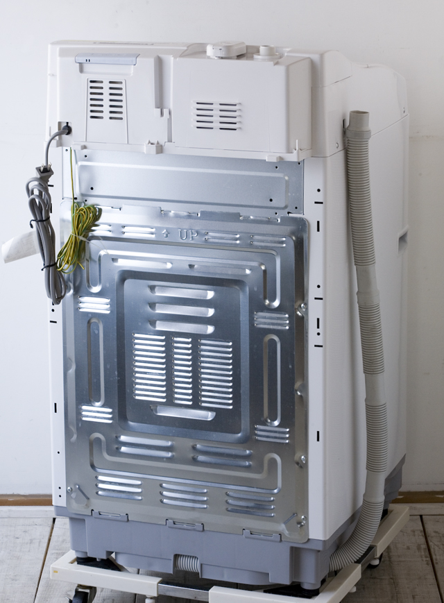 SHARP:シャープのタテ型洗濯乾燥機「ES-TG55L」-02
