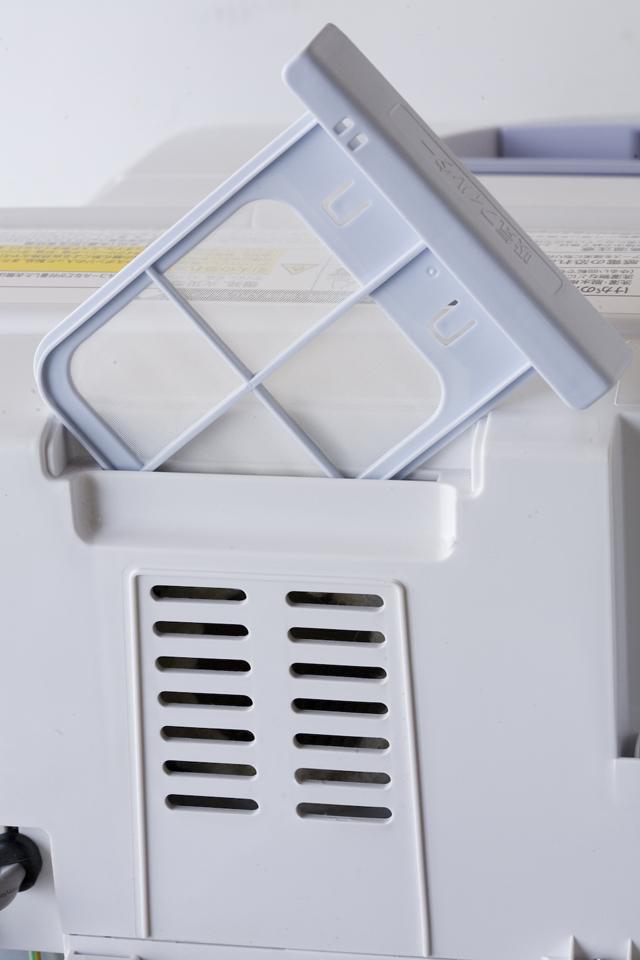 SHARP:シャープのタテ型洗濯乾燥機「ES-TG55L」-15