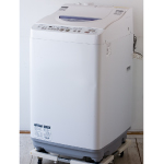 SHARP:シャープのタテ型洗濯乾燥機「ES-TG55L」
