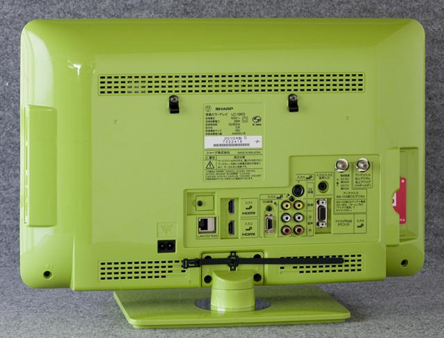 SHARP:シャープの19V型ワイド液晶テレビ:TV、AQUOS:アクオス「LC-19K3」-03