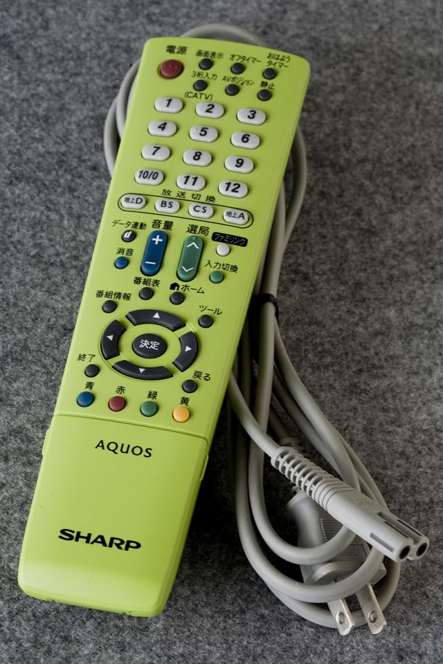 SHARP:シャープの19V型ワイド液晶テレビ:TV、AQUOS:アクオス「LC-19K3」-09