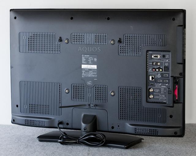 SHARP:シャープの32V型ワイド液晶テレビ:TV、LED AQUOS:アクオス「LC-32V7」-09