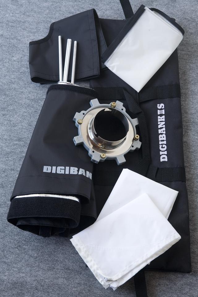 suntech:サンテックの撮影照明機材、ソフトボックス「SPデジバンクⅡS:DIGIBANK」-01