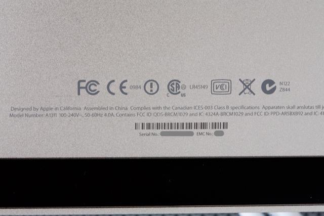 Apple:アップルのiMac「MB950J/A」-11a